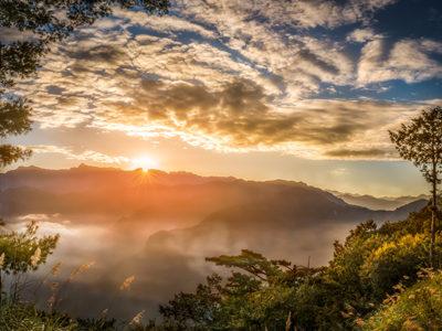 The dawn of Alishan