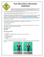 Uniform Information 2018/2019