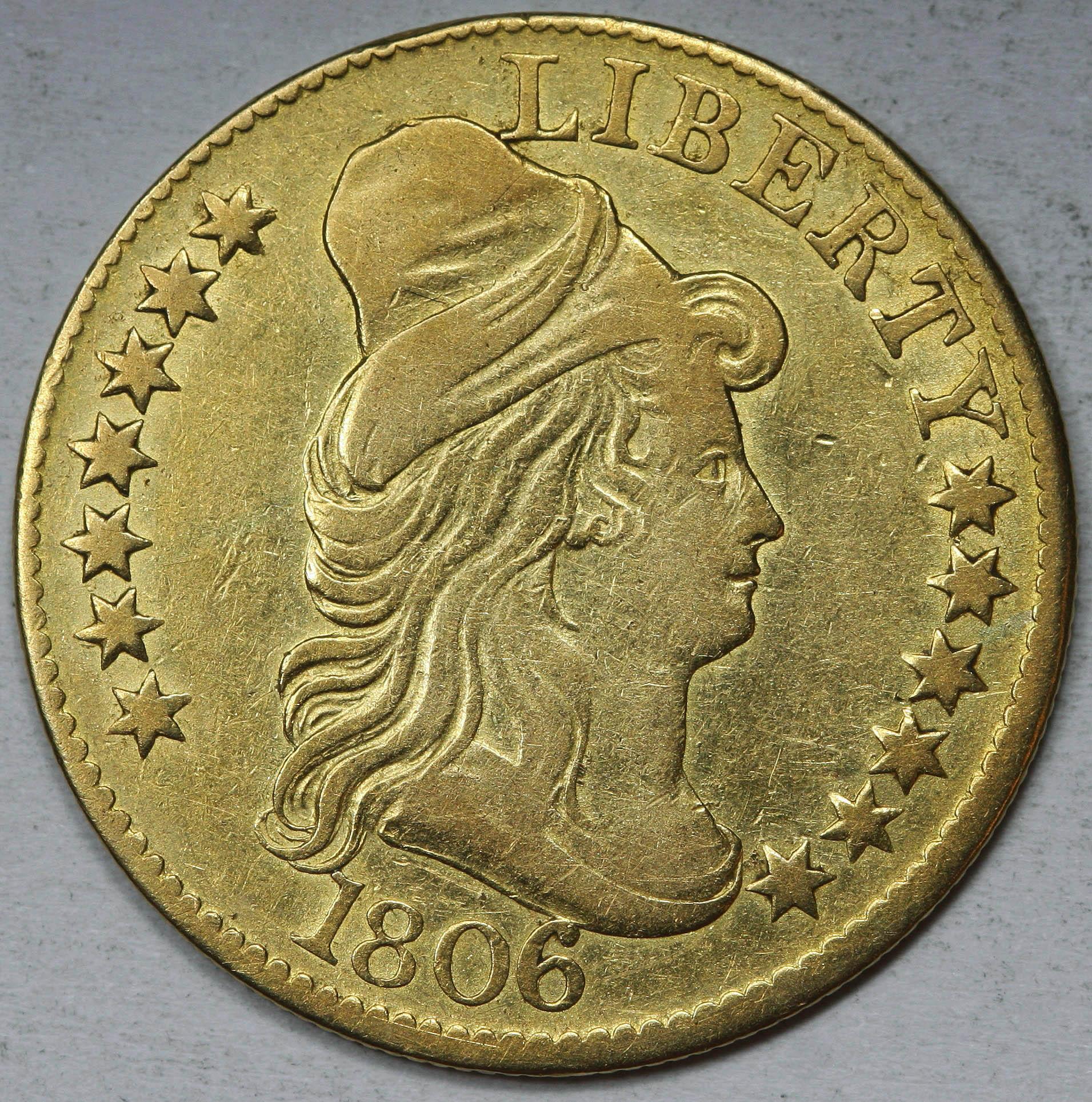 1806 $5 Gold