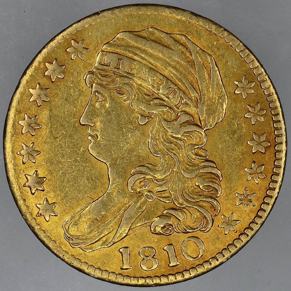 1810 $5 Gold