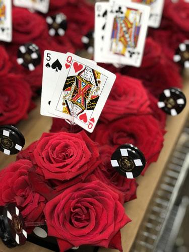Event Table Centerpiece - Casino