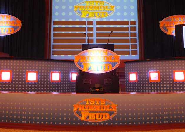 Monte Carlo Productions - Game Shows - Family Feud Set