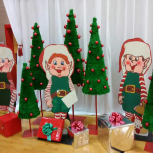 Christmas Elves and Presents