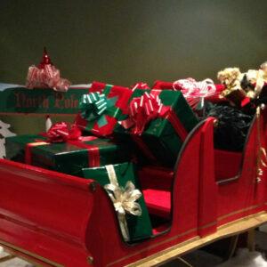 Christmas Sleigh Prop