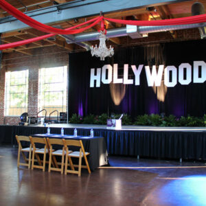 Hollywood theme props