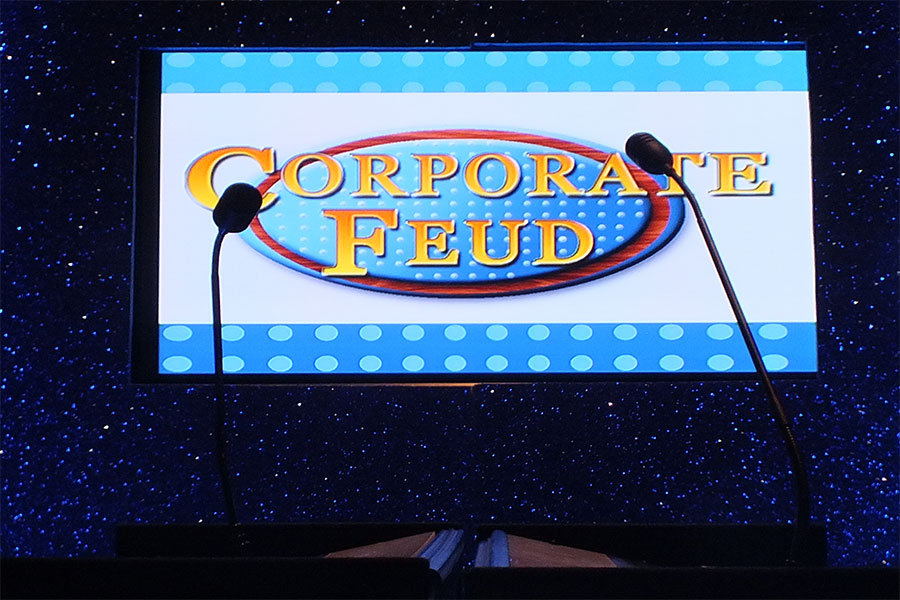 Corporate Feud Game