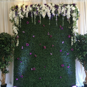 Artificial Boxwood wall