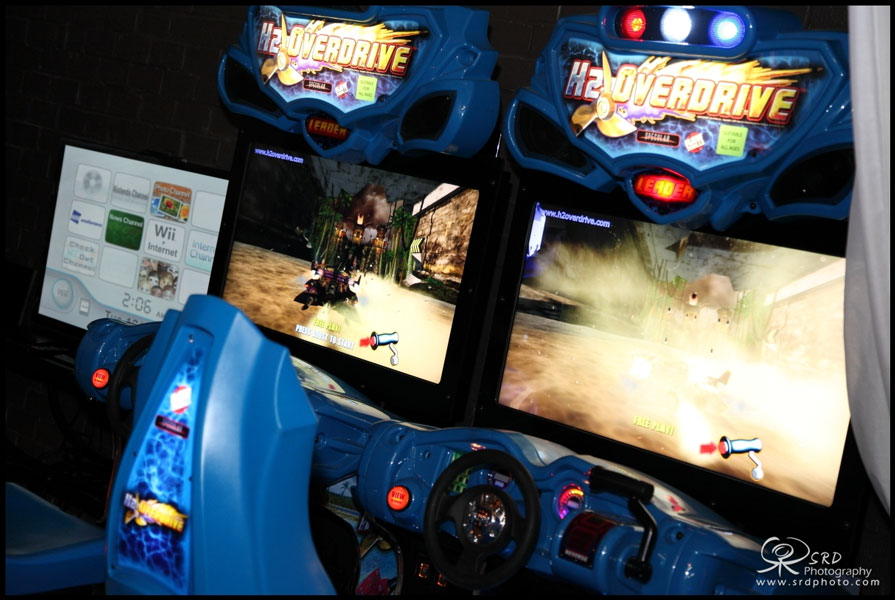 H2Overdrive Arcade Game for rent