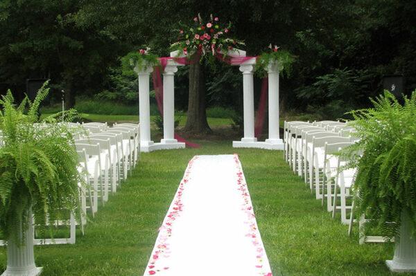 Wedding Decor for Outdoor