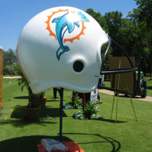 Giant Football Helmets