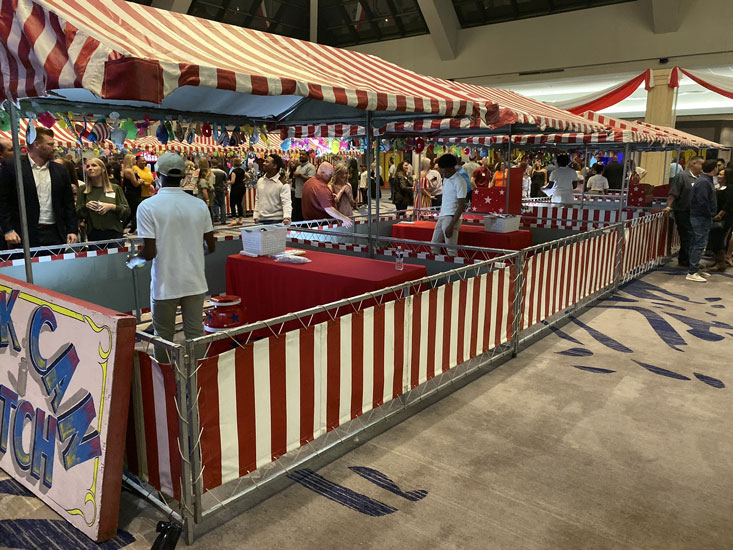 Carnival booths