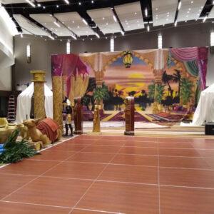 Egyptian Stage Set
