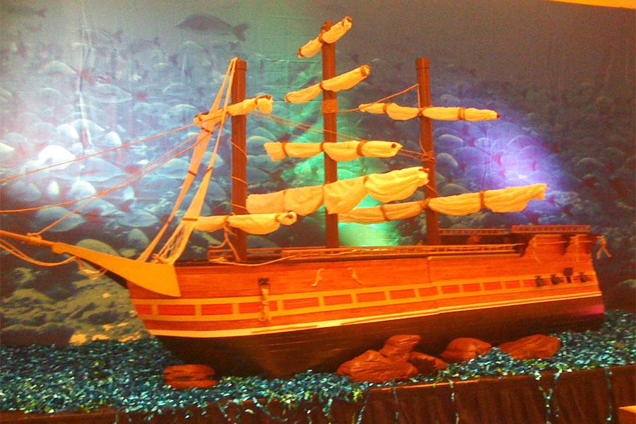 Atlantis theme decor