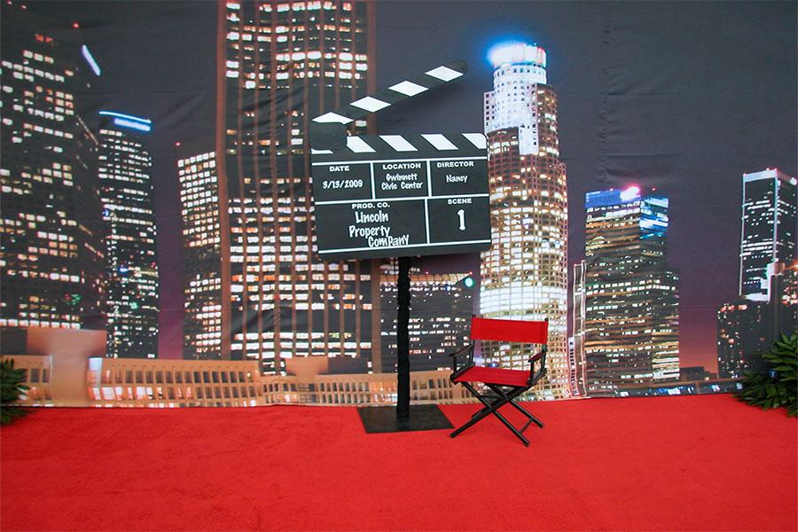 Hollywood Theme Decor