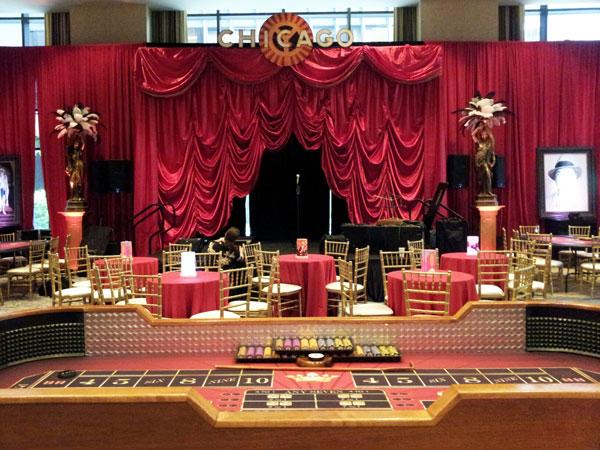 Casino backdrop