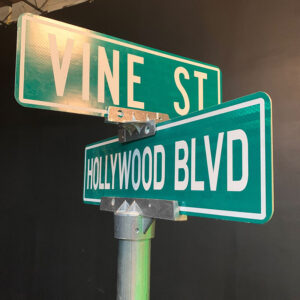 City Streets and Signs