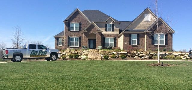 Beautiful Yards are Professionally Maintained by Go Pro Lawn Care