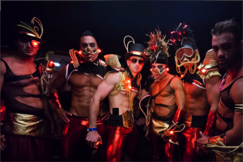Circuit Party Costume Contest Ends In 58-Way Tie
