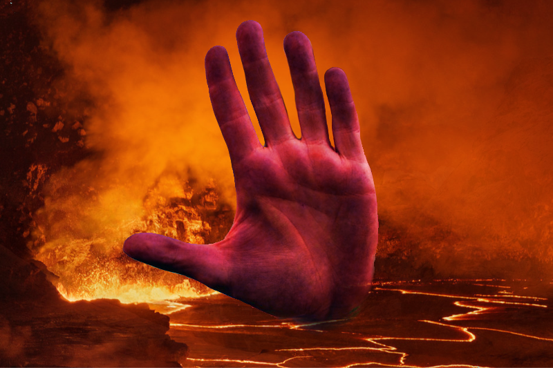 Amid Surging COVID-19 Cases, Satan Bans Americans From Entering Hell