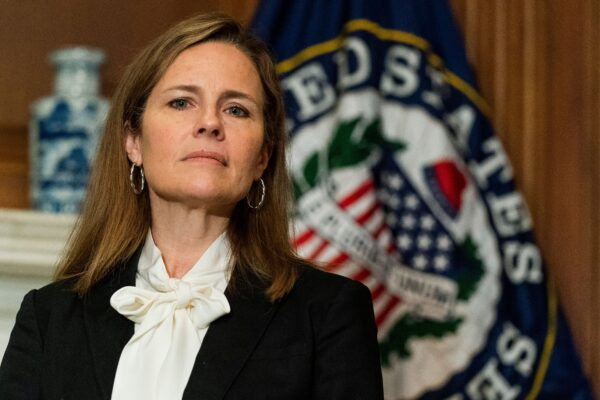 Amy Coney Barrett: 'Oh Relax, I'm Still Gonna Let You Little Homos Live, Just Not Together'