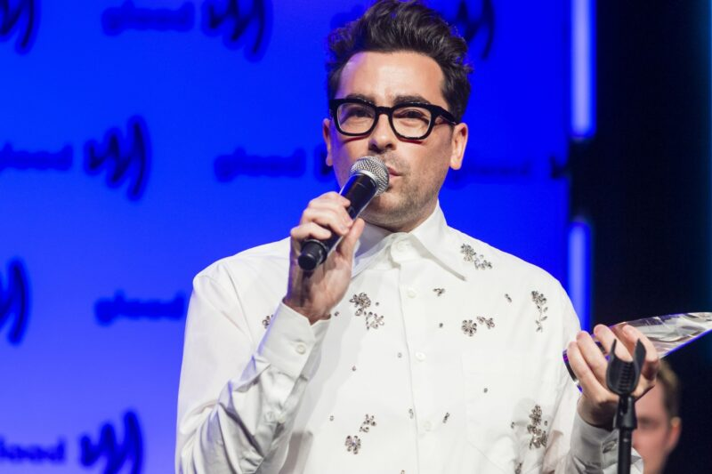 Dan Levy Announces New Project Where He Just Shuts Up For A Little While