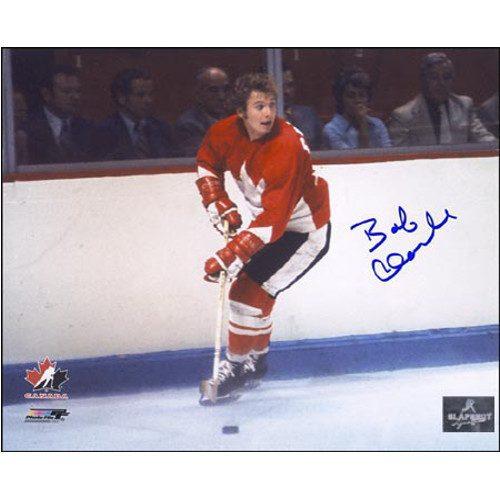 Bobby Clarke Signed Photo 1972 Team Canada Summit Series 8X10 Photo|Bobby Clarke Team Canada 1972 Summit Series Signed 8x10 Photo
