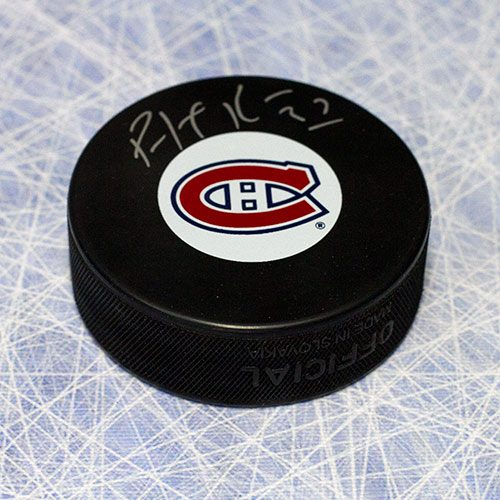 Autographed Patrick Roy Puck-Montreal Canadiens