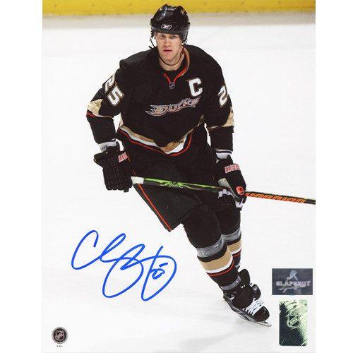Chris Pronger Anaheim Ducks Signed Photo 8X10