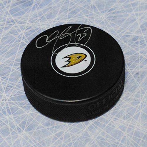 Chris Pronger Anaheim Ducks Signed Puck