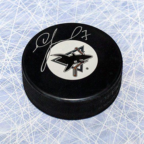 Igor Larionov San Jose Sharks Autographed Hockey Puck