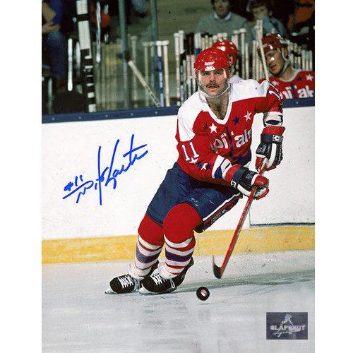 Mike Gartner Washington Capitals Autographed Skating Action 8x10 Photo