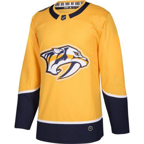 Nashville Predators Adidas Authentic Home NHL Jersey