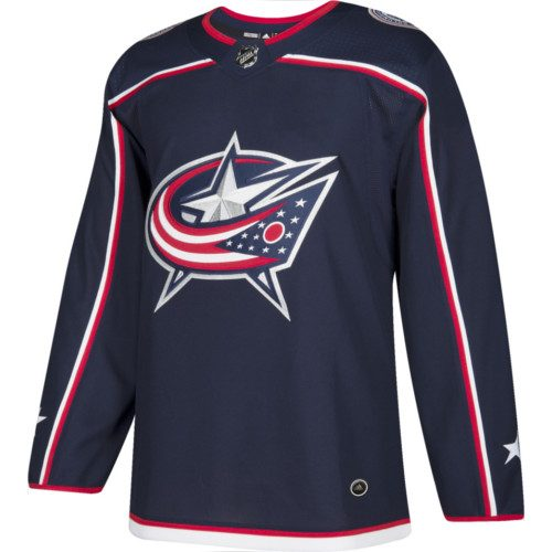 Columbus Blue Jackets Adidas Authentic Home NHL Jersey