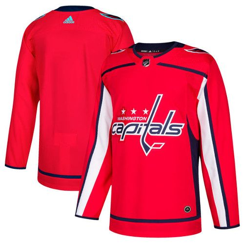 Washington Capitals Adidas Authentic Hockey Jersey Any Name and Number