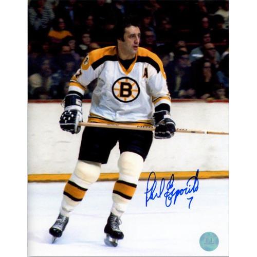 Phil Esposito Boston Bruins Signed 8x10 Legend Photo