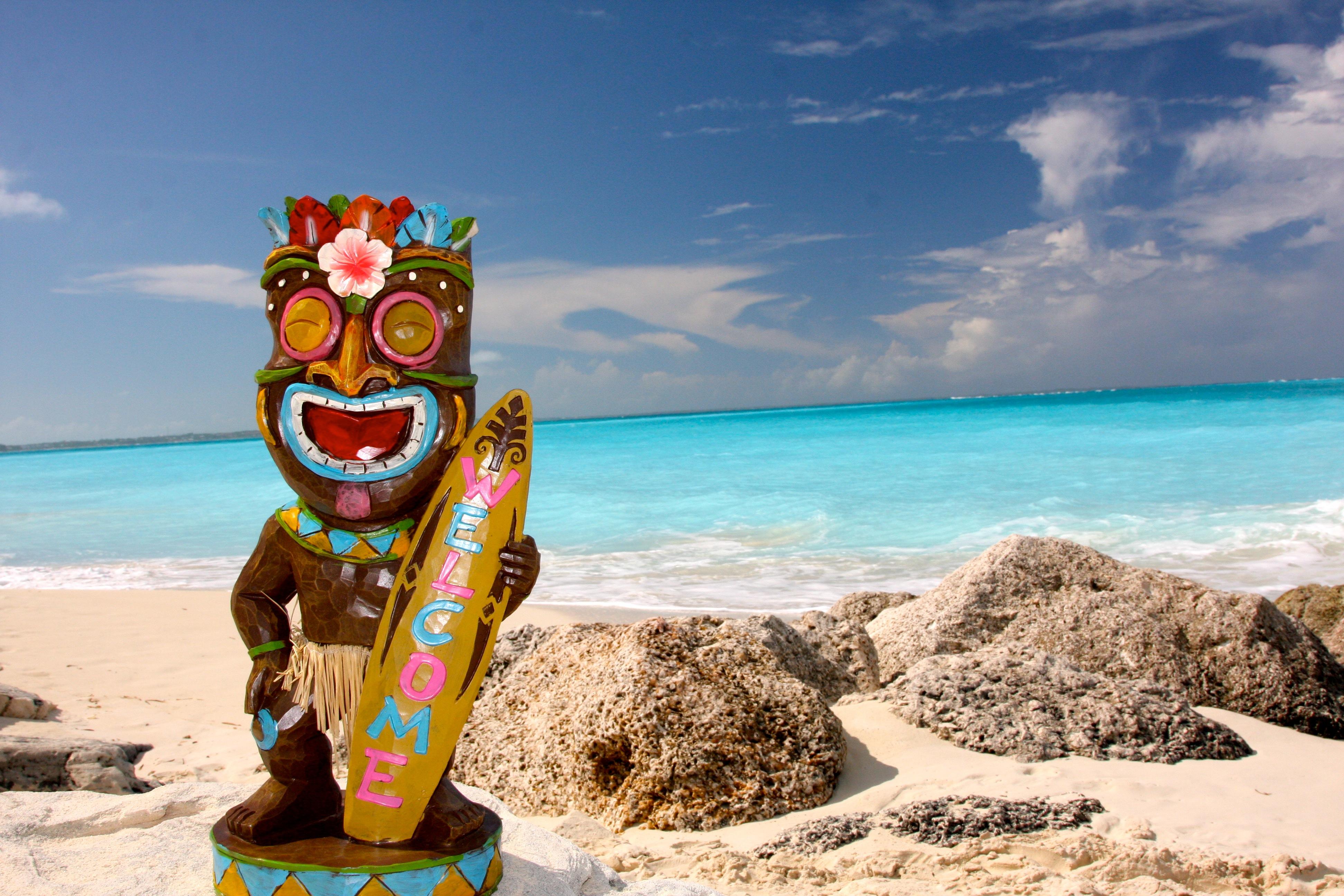 Tiki Mon at the Beach