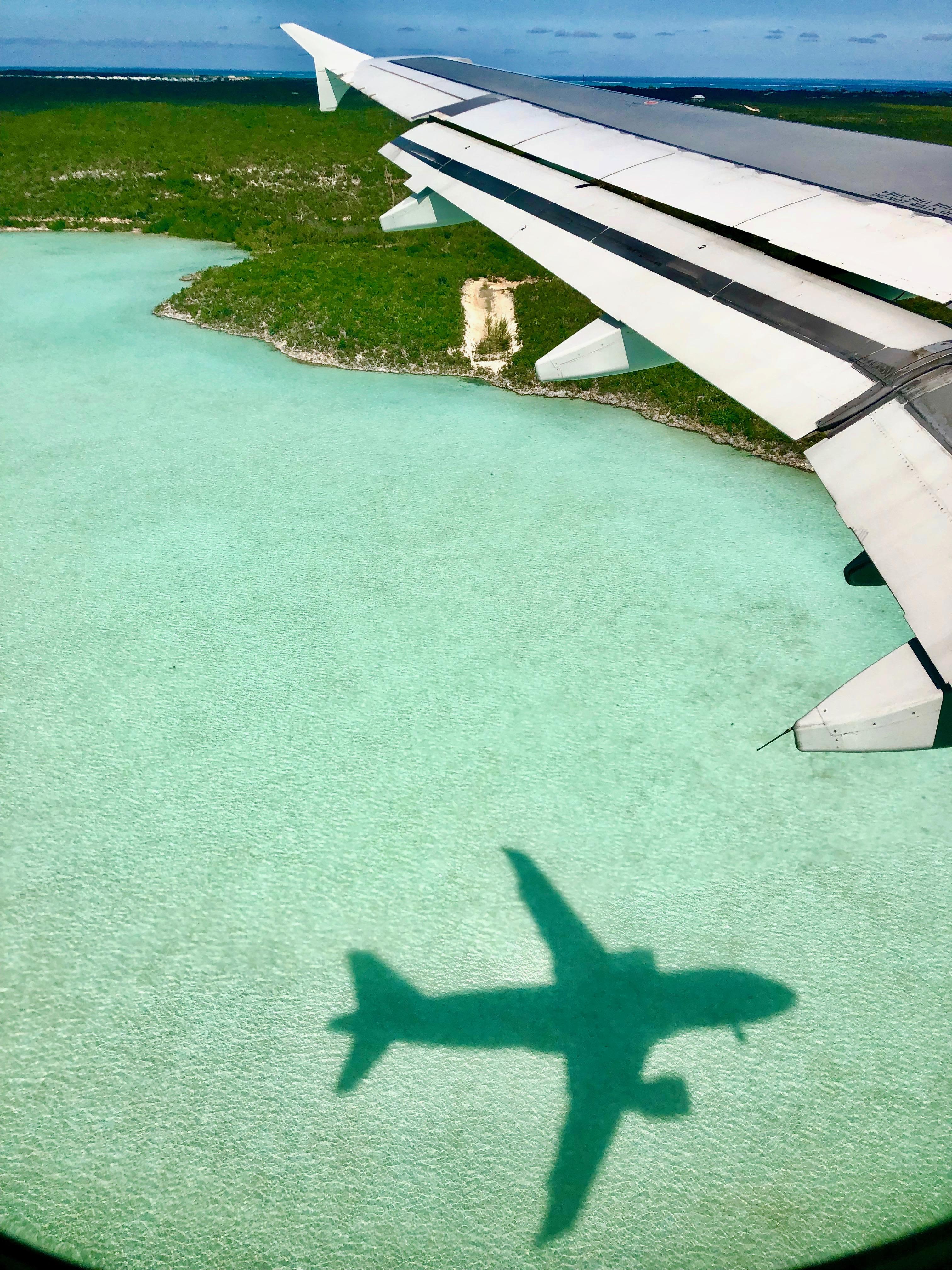 Landing in Paradise!