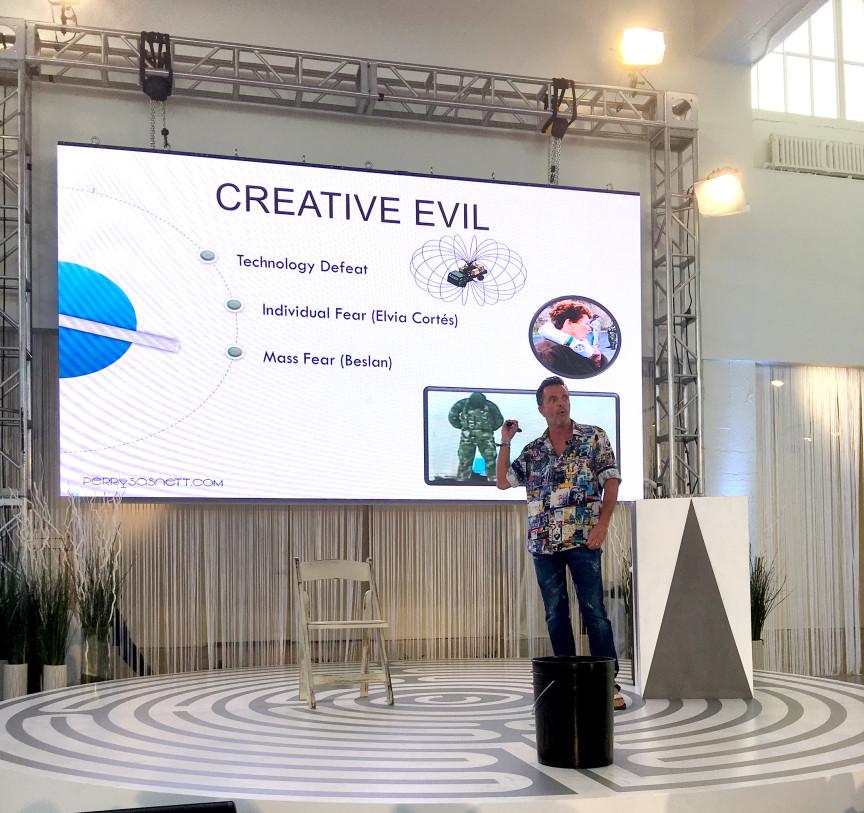 Perry Sasnett Glimpses Creative Good vs. Creative Evil , Red Bull Glimpses