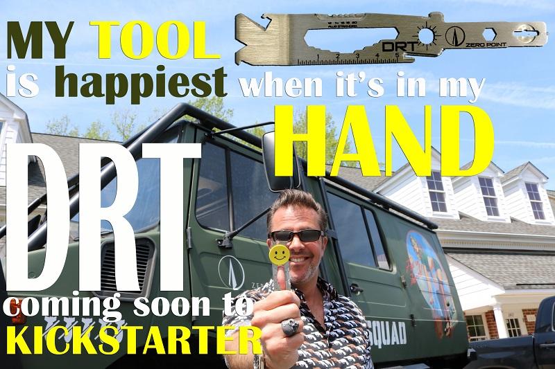 Happy Tool DRT Down Range Tool Kickstarter