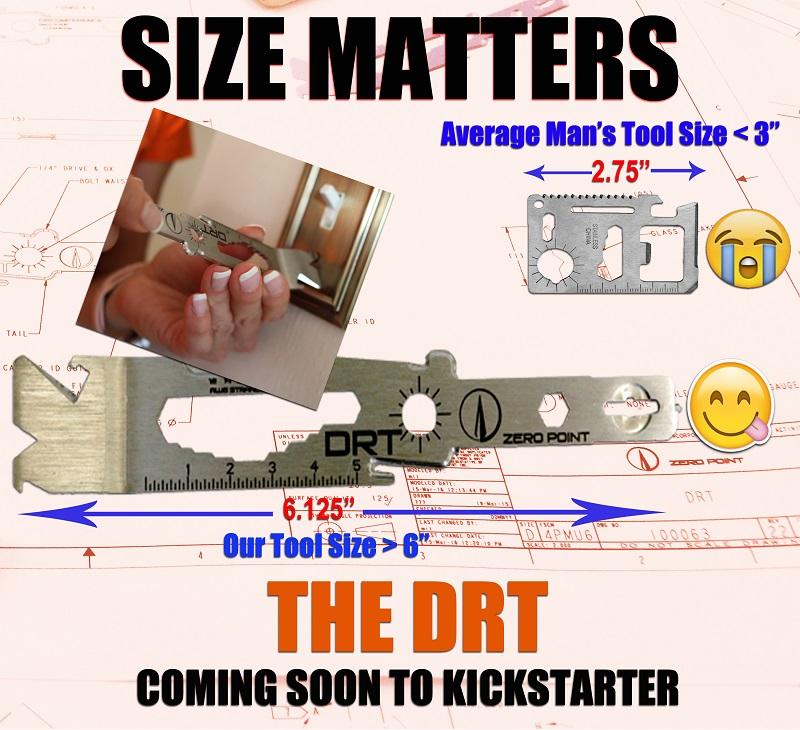 DRT Down Range Tool Size Matters