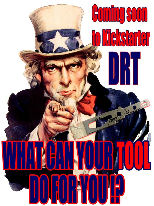 DRT Down Range Multi-Tool with Glass Breaker Perry Sasnett