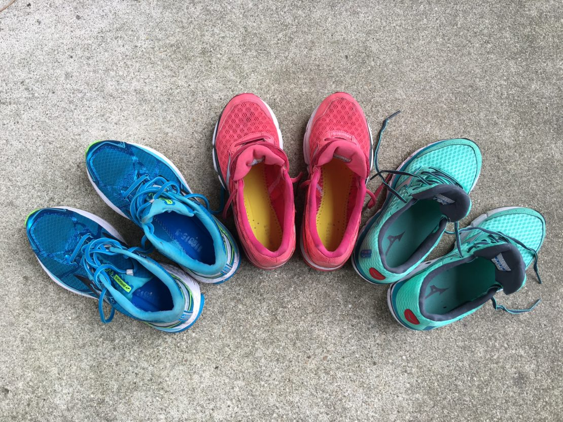 Stacy Sasnett Gear Check Running Shoes
