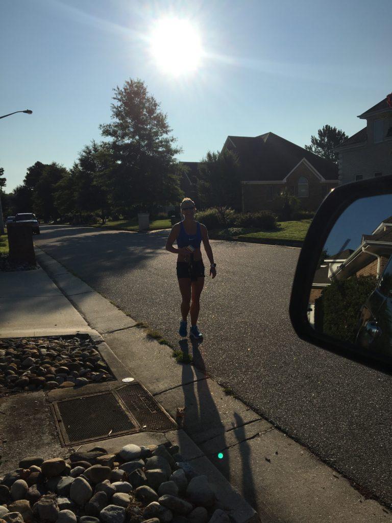 Stacy Week 4 Hansons Marathon Method Training