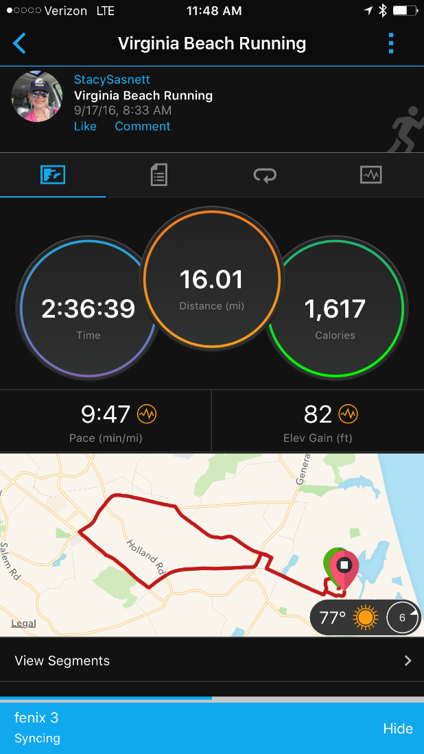 stacy-16-mile stats