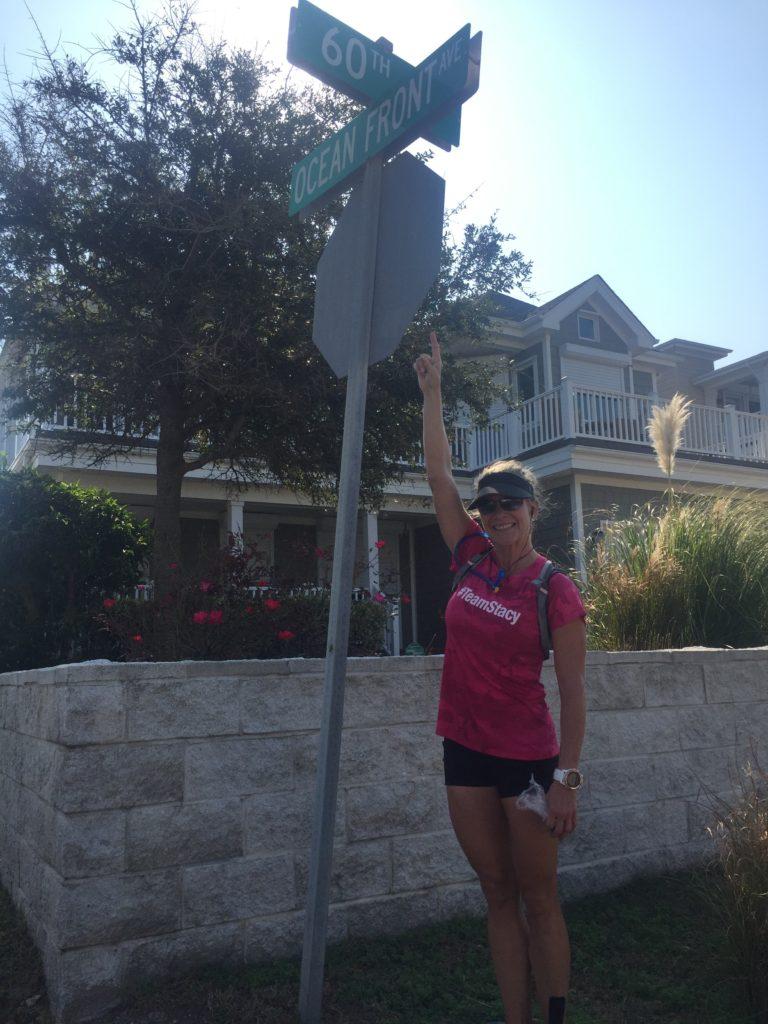 stacy sasnett 25-mile run