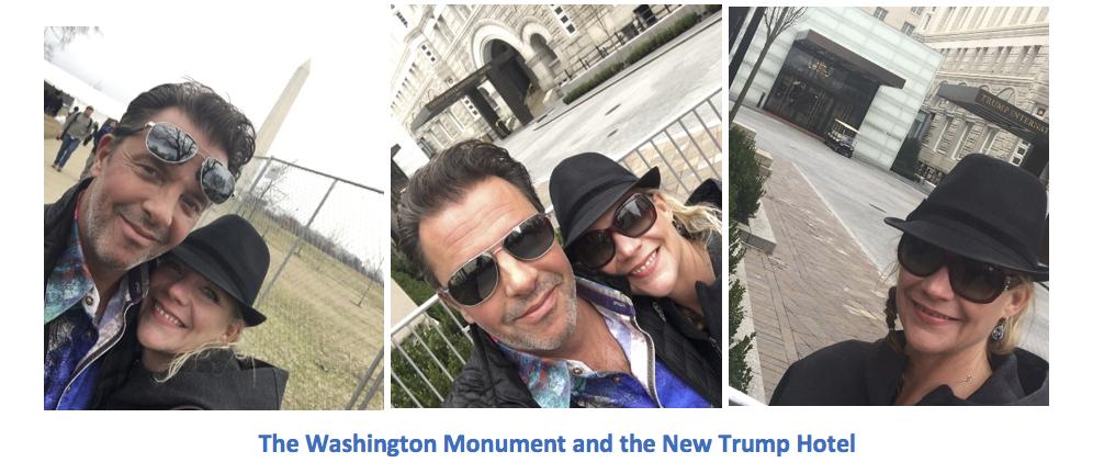Washington Monument Trump Hotel