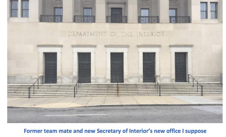 Dept of Interior