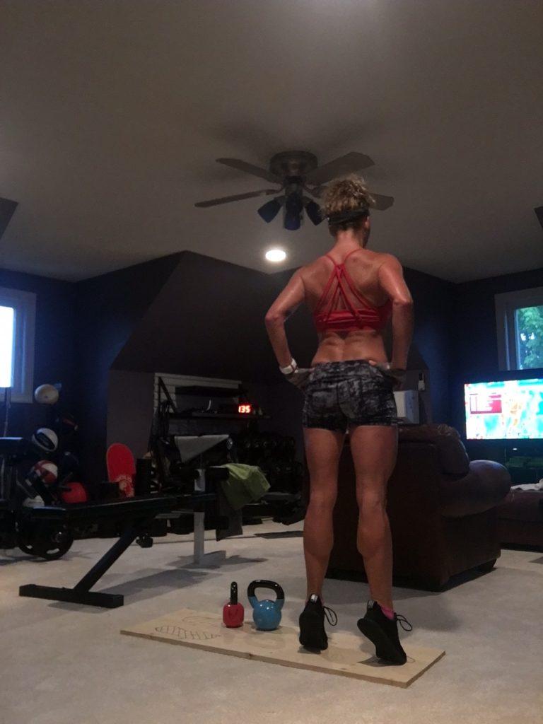 Stacy Sasnett-Plié Squats