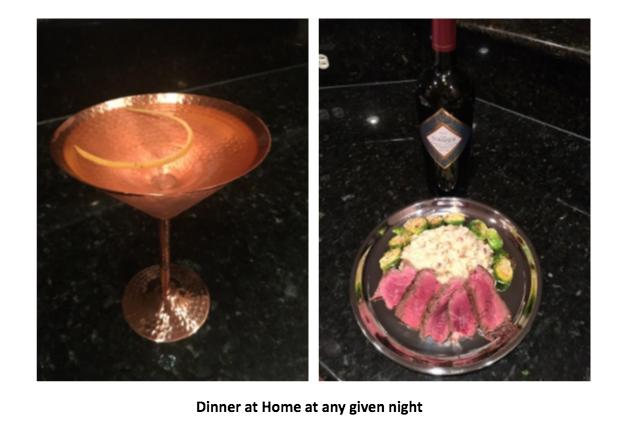 late night drinks