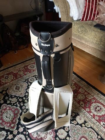 Stone and Metal-Golf Bag